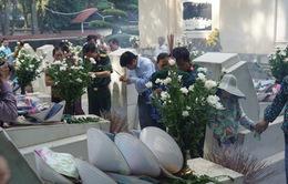 Hàng nghìn người dâng hương tại Nghĩa trang liệt sỹ Ngã Ba Đồng Lộc