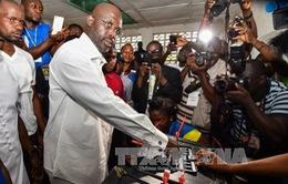 Liberia: Đảng cầm quyền phản đối kết quả vòng bỏ phiếu đầu tiên