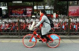 Trung Quốc thắt chặt  dịch vụ sử dụng xe đạp chung