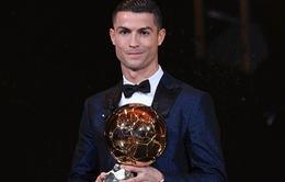 Cristiano Ronaldo chính thức đoạt Quả bóng vàng 2017