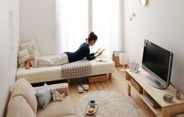 Tạo không gian sống thoải mái trong phòng chật hẹp