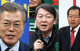 Ba ứng viên nổi trội cho vị trí Tổng thống Hàn Quốc