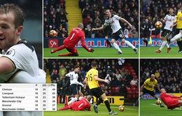 Watford 1-4 Tottenham Hotspur: Spurs đại thắng ngày đầu năm mới