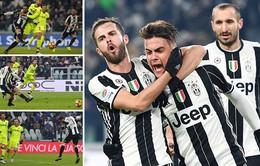 Juventus 3 - 0 Bologna: Higuain lập cú đúp, Juve tiếp tục ngự trị ngôi đầu