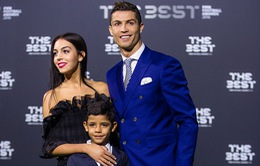 Ngắm nhan sắc rực rỡ của bạn gái mới Ronaldo tại lễ trao giải The Best
