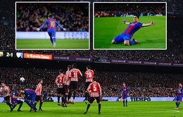 Barcelona 3-1 A. Bilbao: Thắng thuyết phục, Barcelona vào Tứ kết Cúp Nhà vua