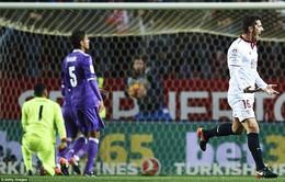 Sevilla 2-1 Real Madrid: Chặn đứng kỷ lục!