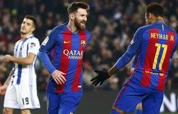 Barcelona 5-2 Sociedad: Thắng ấn tượng, Barcelona vào bán kết Cúp Nhà vua