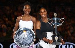 Vượt qua chị gái, Serena Williams vô địch Australia mở rộng 2017