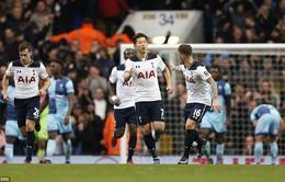 Ngược dòng ở phút 90+7, Tottenham đặt chân vào vòng 5 FA Cup