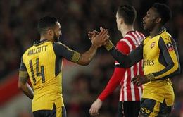 Southampton 0-5 Arsenal: Điểm 10 cho song sát Welbeck - Walcott
