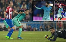 Bán kết lượt đi Cúp Nhà vua: Messi, Suarez ghi bàn, Barcelona hạ Atletico