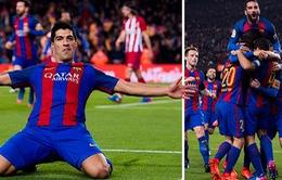 Barcelona vào chung kết Cúp Nhà vua Tây Ban Nha