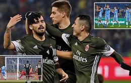 Vòng 24 Serie A: Lazio chia điểm cùng Milan trong trận cầu kịch tính