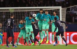 """PSG 4-0 Barcelona: Thua """"quên ngày về"""""""