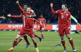 Vòng 22 Giải VĐQG Đức: Bayer Munich vùi dập Hamburg, Dortmund và Leipzig thắng ấn tượng