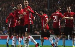 Ibra tỏa sáng, Man Utd vượt qua Blackburn để tiến vào tứ kết FA Cup