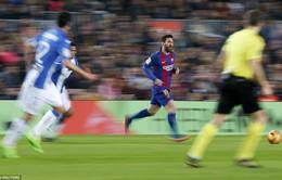 Messi lập cú đúp, Barcelona tìm lại chiến thắng trên sân nhà Nou Camp