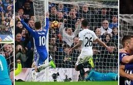 Vòng 26 Ngoại hạng Anh: Đánh bại Swansea, Chelsea bỏ xa Man City 11 điểm