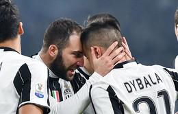 Ngược dòng ấn tượng trước Napoli, Juventus đặt một chân vào chung kết Cúp quốc gia Italia