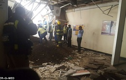 Sập trần bệnh viện ở Nam Phi, 5 người bị thương