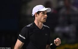 Dubai Championships 2017: Andy Murray gặp Verdasco ở chung kết