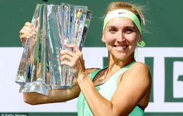 Ngược dòng ngoạn mục, Vesnina lần đầu đăng quang tại Indian Wells
