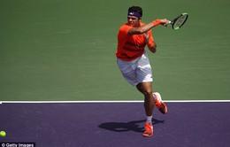 Giải quần vợt Miami mở rộng 2017: Milos Raonic thẳng tiến vào vòng 3