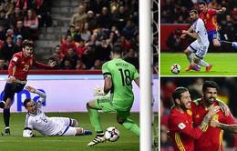 Vòng loại World Cup 2018 khu vực châu Âu: Tây Ban Nha 4-1 Israel