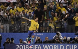 Vòng loại World Cup 2018: Neymar ghi bàn, Brazil thắng đậm Paraguay