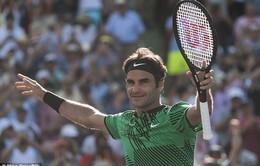 Tứ kết đơn nam Miami mở rộng 2017: Roger Federer 2-1 Tomas Berdych (6/2, 3/6 và 7/6)