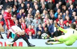 VIDEO Man Utd 0-0 West Brom: Nỗi ám ảnh hạng 6 trở lại
