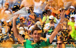 Đánh bại Nadal, Federer lần thứ 3 vô địch Miami mở rộng