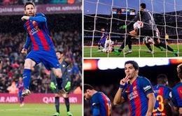Kết quả bóng đá châu Âu sáng 6/4: Barcelona 3-0 Sevilla, Leganes 2 - 4 Real Madrid, Chelsea 2 - 1 Manchester City