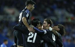 Leganes 2-4 Real Madrid: Không Ronaldo, Morata lập hat-trick ấn tượng