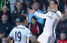 VIDEO Bournemouth 1-3 Chelsea: Hazard lại nổ súng, Alonso lập siêu phẩm