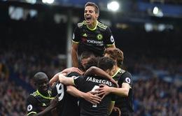 Everton 0-3 Chelsea: The Blues CHÍNH THỨC trở lại Champions League