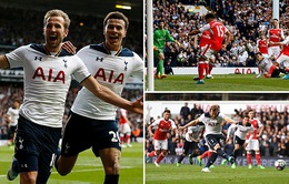 Tottenham 2 - 0 Arsenal: Thất bại ở derby London, Arsenal xa rời tốp 4