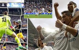 Real Madrid 3-0 Atletico Madrid: Ronaldo lập hattrick, Real Madrid đặt một chân vào chung kết