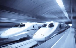 Tàu siêu tốc thế hệ mới của Trung Quốc có thể chạy hơn 600km/h