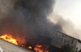 Thanh Hóa: Cháy lớn tại công ty sản xuất bánh kẹo
