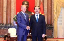 Chủ tịch nước tiếp Thư ký Hội đồng An ninh Liên bang Nga