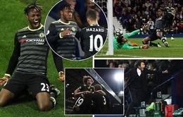 Thắng West Brom, Chelsea vô địch Ngoại hạng Anh sớm hai vòng đấu