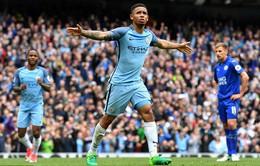 Manchester City 2-1 Leicester: Chủ nhà củng cố vị trí trong top 4