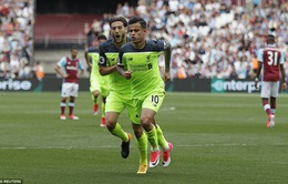 VIDEO West Ham 0-4 Liverpool: Thẳng tiến tới ngưỡng cửa Champions League