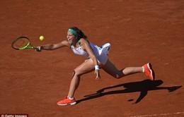 """Jelena Ostapenko: """"Vũ điệu"""" Latvia tại giải Pháp mở rộng 2017"""