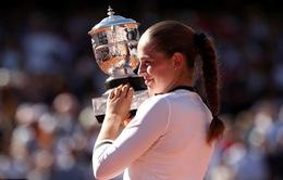 Jelena Ostapenko vô địch đơn nữ giải quần vợt Pháp mở rộng 2017
