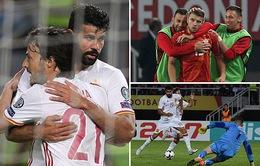 Kết quả bóng đá sáng 12/6: Italia 5-0 Liechtenstein, Macedonia 1-2 Tây Ban Nha, Iceland 1 - 0 Croatia