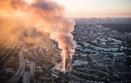Những hình ảnh kinh hoàng còn lại sau vụ cháy chấn động ở thủ đô London