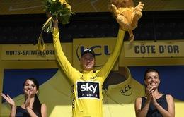 Chris Froome tiếp tục giữ áo vàng sau chặng 7 Tour de France